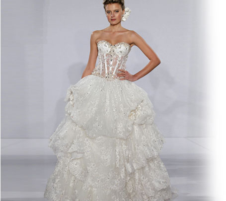 Stunning Pnina Torri Preowned Wedding Dresses