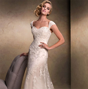 Maggie sottero preowned wedding dresses once wed for Once owned wedding dresses