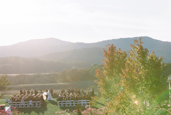 Pippin Hill Outdoor Wedding