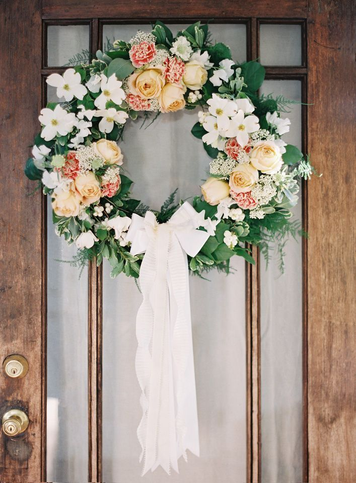 DIY Wedding Wreath