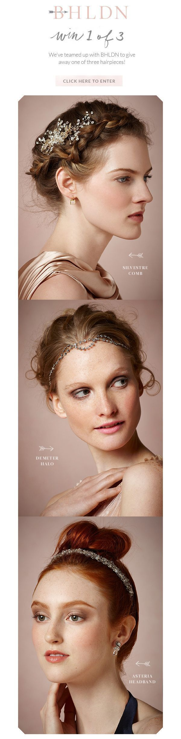 Win A BHLDN Hairpiece