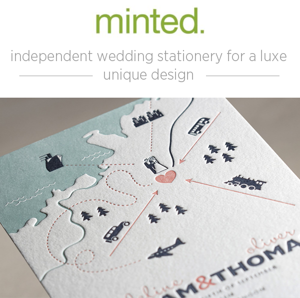 Minted Wedding Invitations + Giveaway