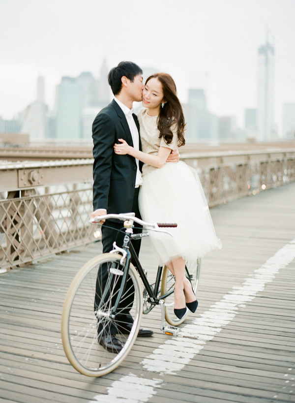 nyc-bicycle-engagement-photos