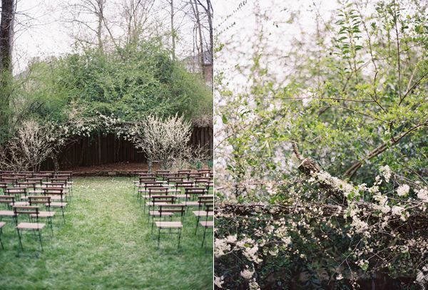 spring-backyard-wedding-ceremony-white-blossoms