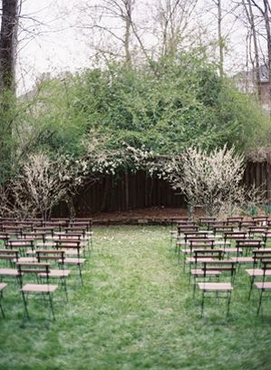 intimate-spring-backyard-wedding-ceremony-white-blossoms