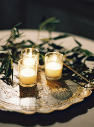 elegant-rustic-wedding-candles