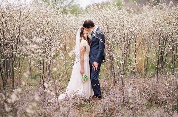 enchanted-spring-wedding-white-delicate-blossoms-saplings-trees-orchard