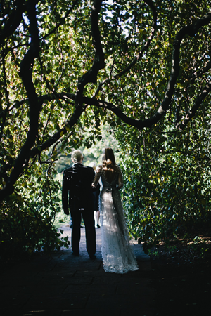 Romantic Outdoor Fall Wedding