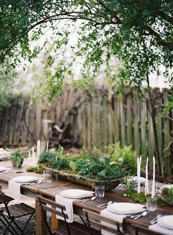 head-table-organic-rustic-simple-green-white-wedding-reception