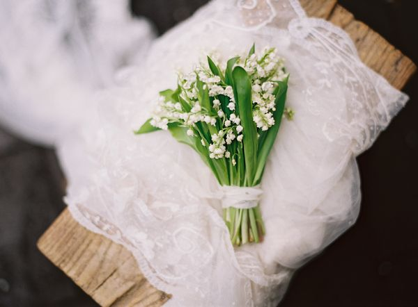 Lily Of The Valley Wedding Bouquet: A Delicate Tuscan Inspired Wedding II