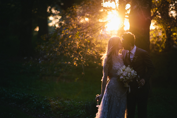 sunset-outdoor-fall-wedding-reception-ideas