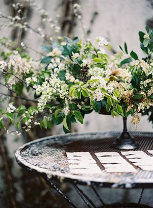 white-green-spring-organic-formal-rustic-wild-flower-arrangement-centerpiece-escort-cards-joy-thigpen