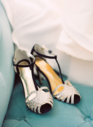 black-and-beige-wedding-shoes