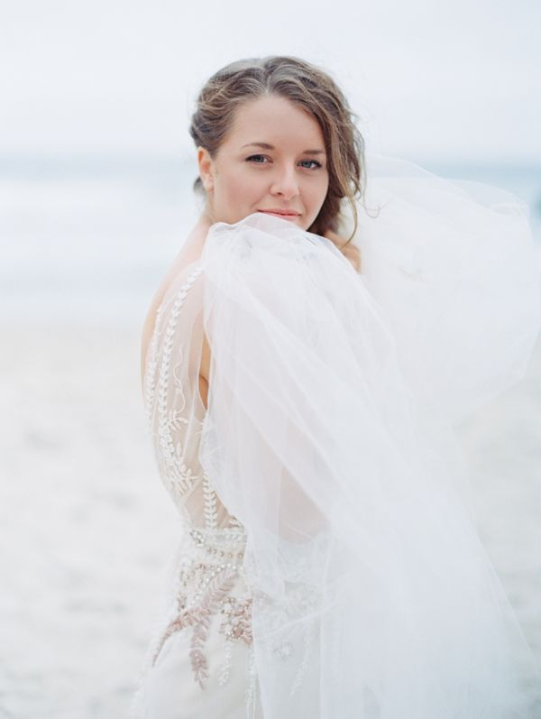 bride-at-the-sea-beach-wedding-tulle-custom-dress-cheryl-taylor-veil