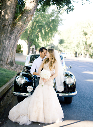 Simple and Chic Tuscan Inspired Wedding