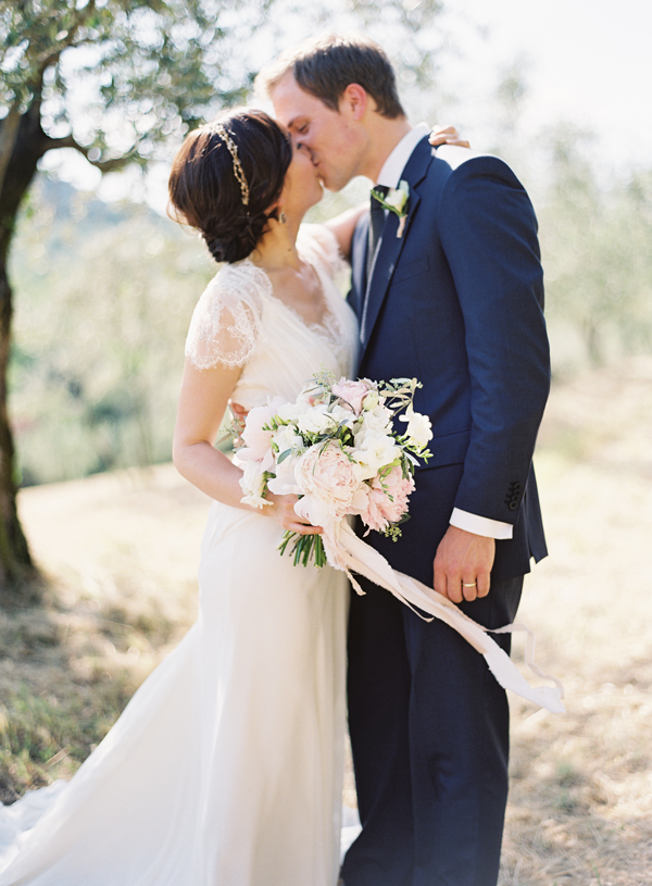 Elegant Outdoor Tuscany Wedding