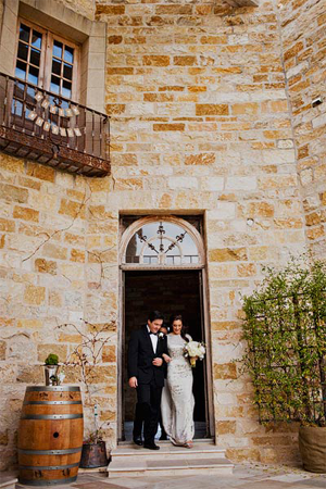 Elegant Sunstone Villa Wedding