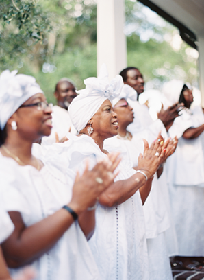 gospel-choir-wedding-processional
