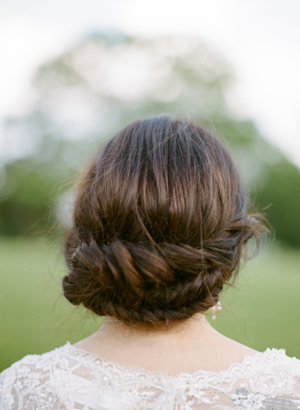 low-braided-chignon-wedding-hairstyles-for-long-hair