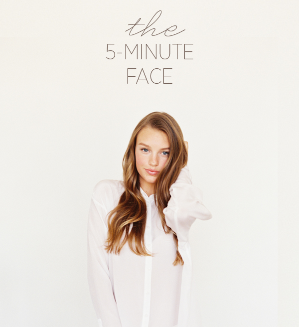 The 5 minute face beauty tutorial once wed the 5 minute face beauty tutorial junglespirit Choice Image