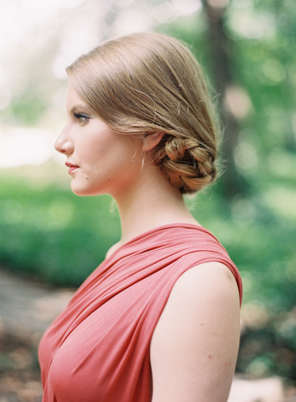 tucked braided bun hairstyles for long hair   once wed