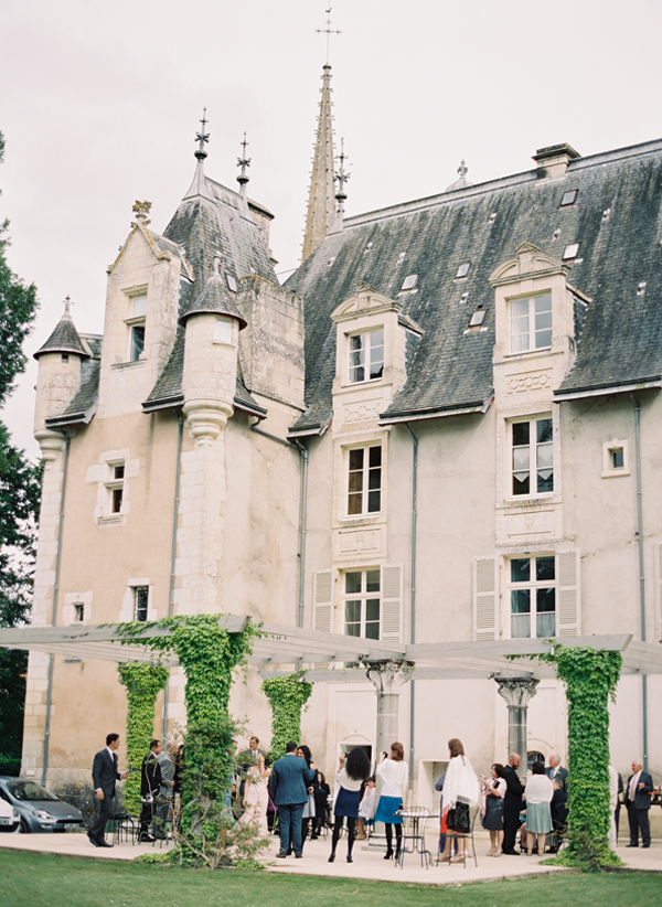 Elegant French Chateau Wedding