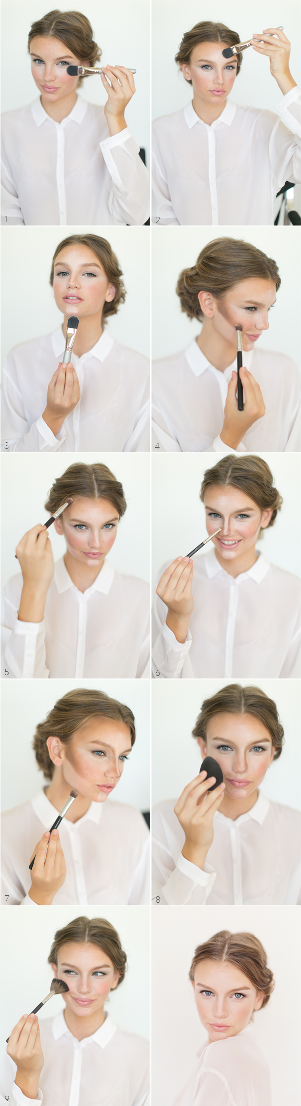How to contour and highlight once wed how to contour and highlight baditri Gallery