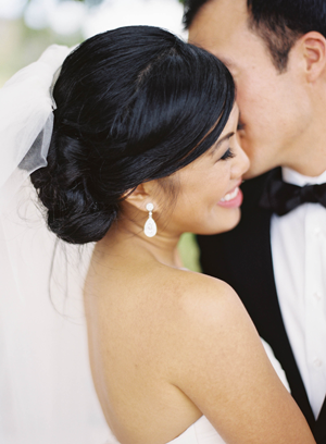 low-chignon-wedding-haistyles-for-long-hair