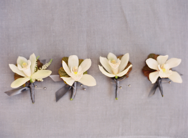 orchid-wedding-boutonnieres