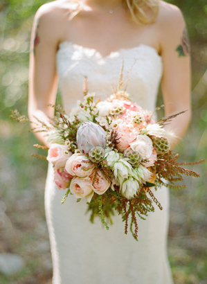 rustic-pink-wedding-bouquet-ideas
