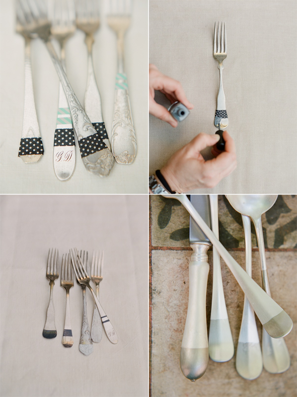 silver-flatware-wedding-diy-ideas1