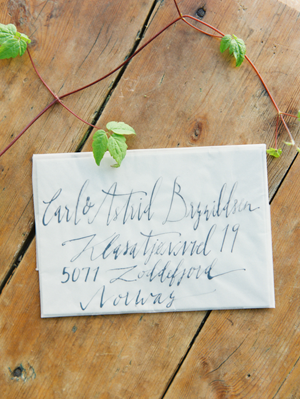 organic-calligraphy-wedding-envelopes