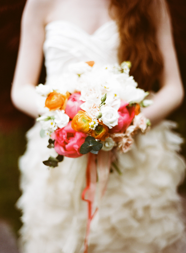 white-organge-pink-wedding-bouquet