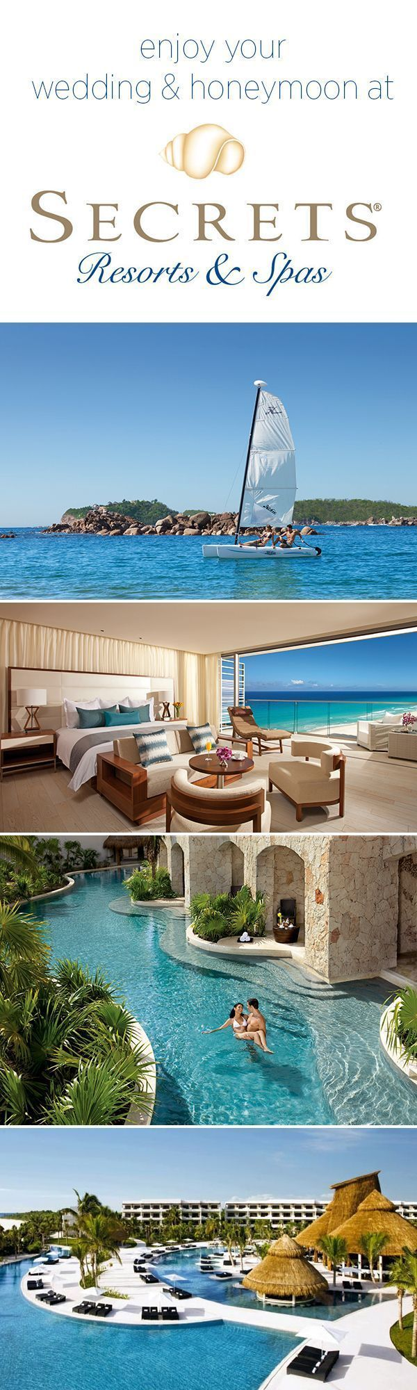 Experience the Gorgeous Secrets Resorts