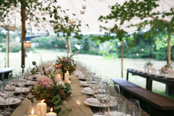 hanging-candle-branches-wedding-reception-ideas