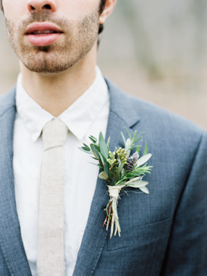 herbal-wedding-boutonniere