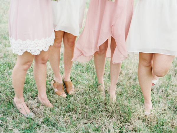 pink-and-white-bridesmaid-dresses