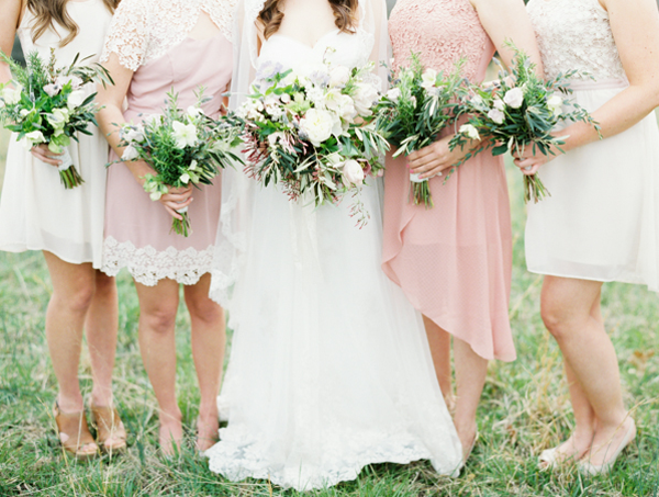 pink-lace-bridesmaid-dresses