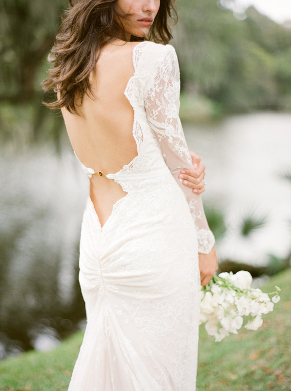 lace-sleeve-backless-wedding-dress-ideas