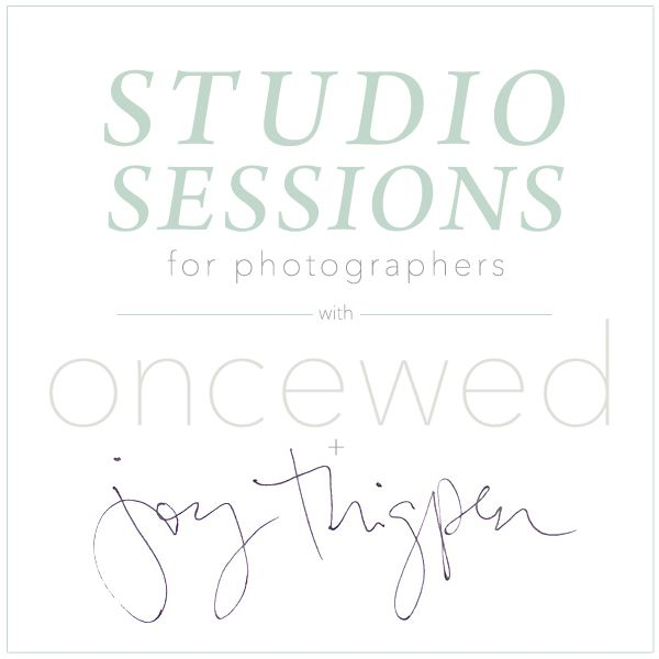 Studio Sessions for Photographers
