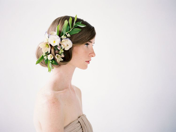 Flowers In Her Hair Once Wed