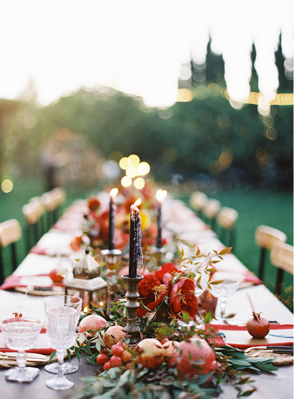 colorful-red-fruit-wedding-reception-table-ideas