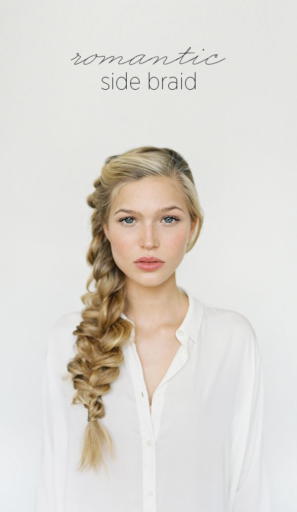 diy-wedding-hairstyles-braid-for-long-hair