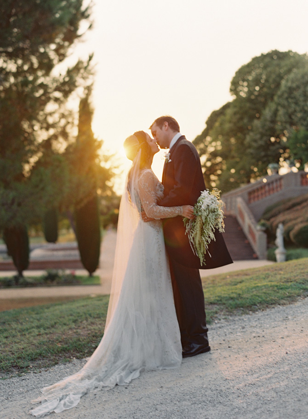 Elegant Barcelona Destination Castle Wedding II