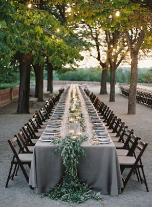 elegant-gray-long-wedding-reception-tables