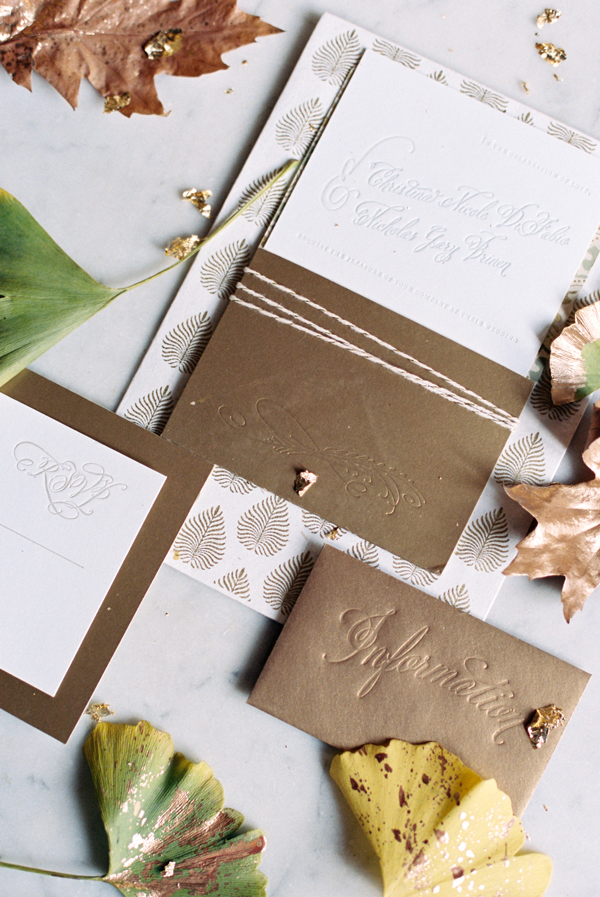 gold-letterpresss-wedding-invitations