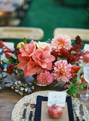 red-floral-centerpieces