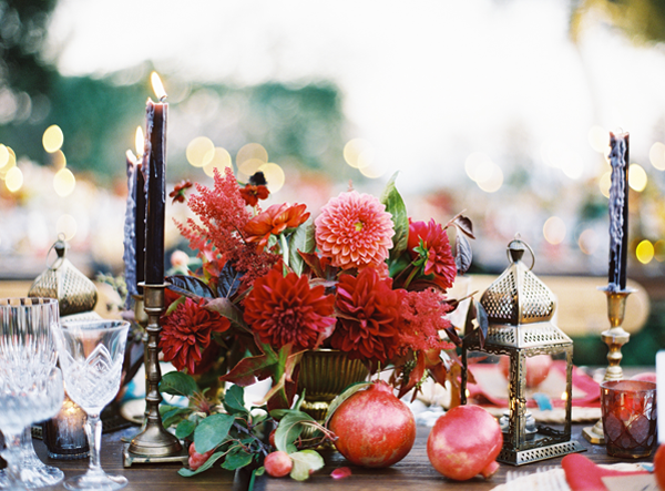 Colorful Elegant San Ysidro Ranch Wedding