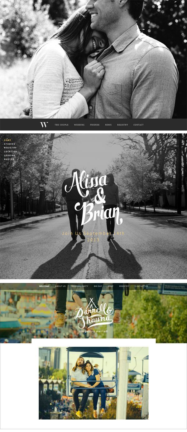 create a custom wedding website with squarespace once wed