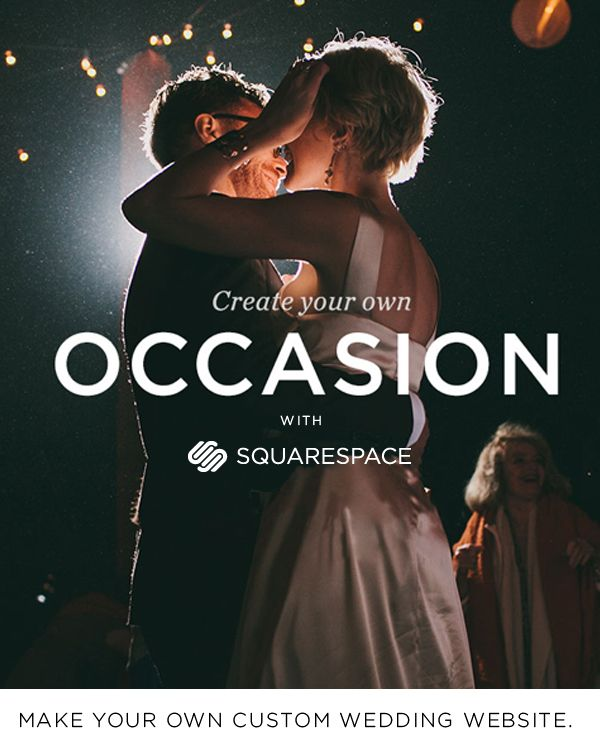 Create a Custom Wedding Website with Squarespace